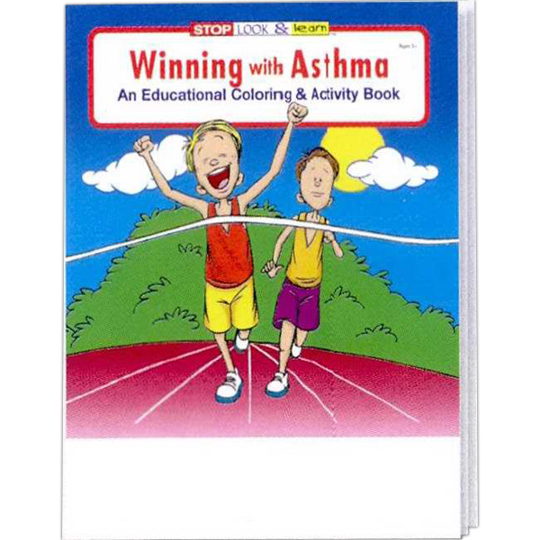 Promotional Winning With Asthma Coloring and Activity Book Fun Pack