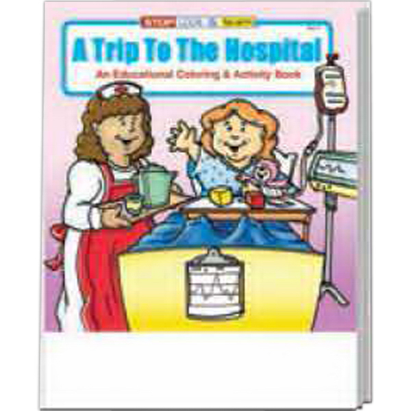 Promotional A Trip to the Hospital Coloring and Activity Book Fun Pack