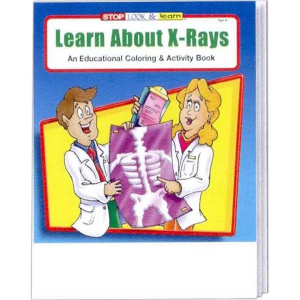 Printed Learn About X-Rays Coloring and Activity Book Fun Pack