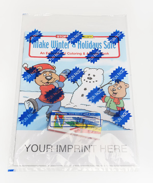 Personalized Coloring and Activity Book Fun Pack