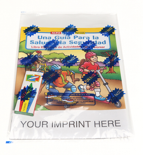 Printed Spanish Coloring Book Fun Pack