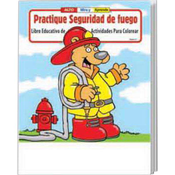 Printed Spanish Coloring and Activity Book Fun Pack