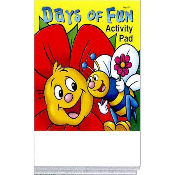 Customized Days of Fun Activity Pad Pun Pack