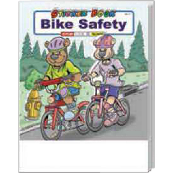 Personalized Bike Safety Sticker Book Fun Pack