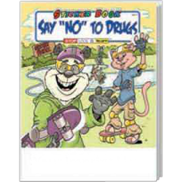 Personalized Say No To Drugs Sticker Book Fun Pack