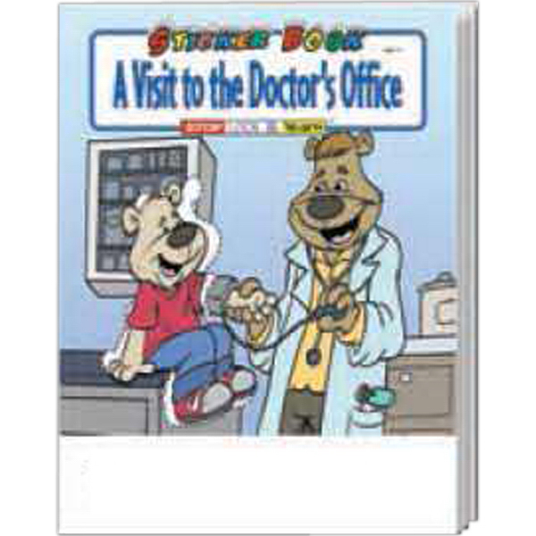 Custom A Visit to the Doctor's Office Sticker Book Fun Pack
