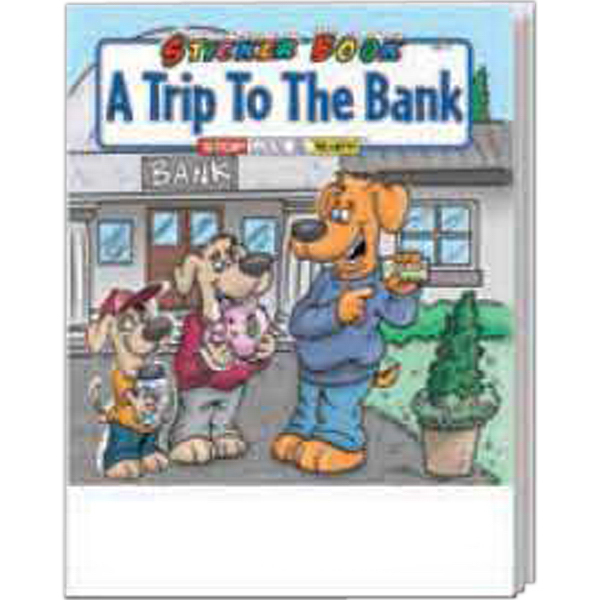 Personalized A Trip To The Bank Sticker Book Fun Pack