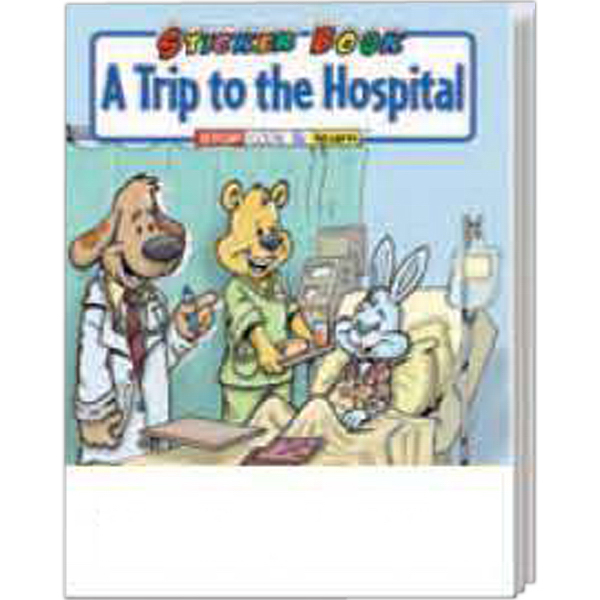 Imprinted A Trip To The Hospital Sticker Book Fun Pack