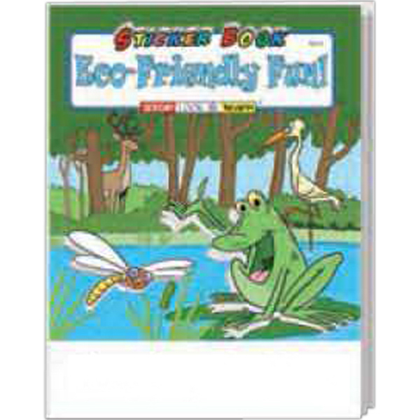 Personalized Eco-Friendly Fun Sticker Book Fun Pack