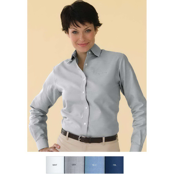 Personalized Women's Velocity Repel & Release Oxford Shirt