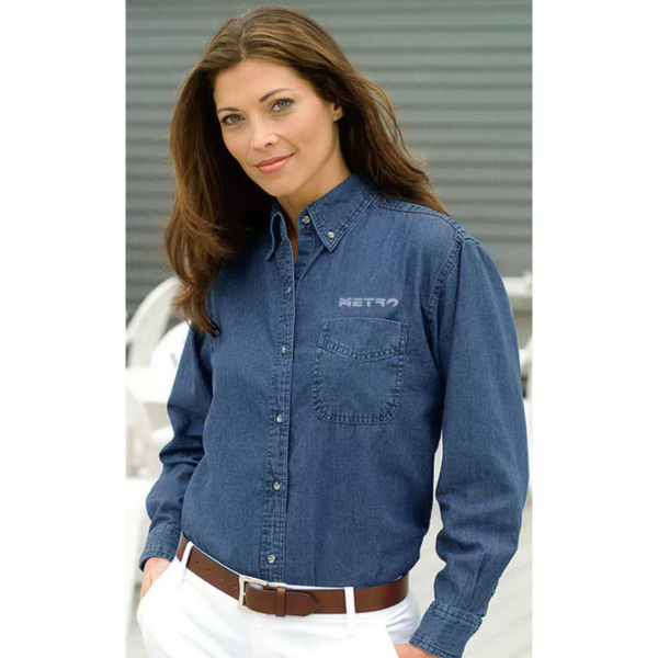 Promotional Women's Woodbridge Denim Shirt