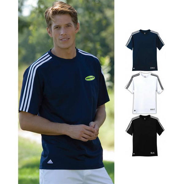 Custom Adidas ClimaLite (R) 3-Stripes Golf Tee