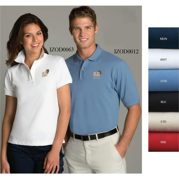 Personalized Izod Women's Silkwash Stretch Pique Polo