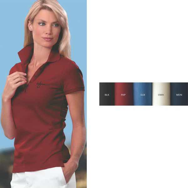 Custom Women's IZOD Pima Cool Polo