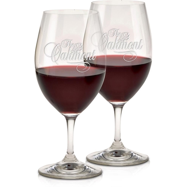 Imprinted Magnum Wine Glasses - Set of 2