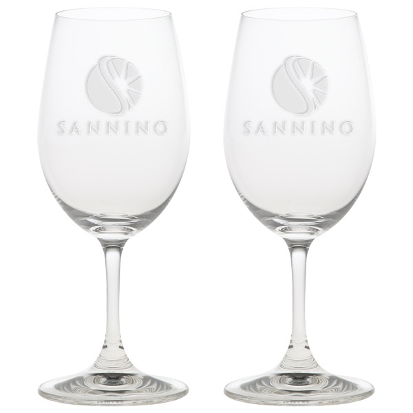 Custom Red Wine Glasses - Set of 2
