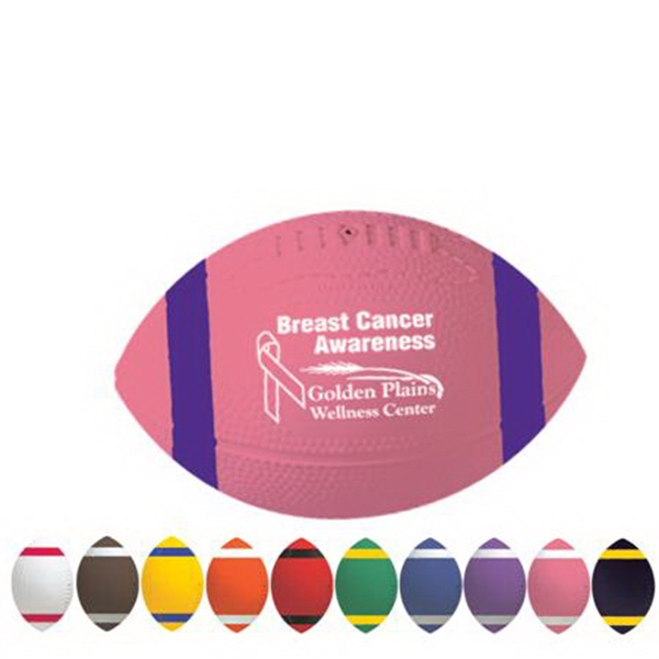 """Personalized 7"""" AdMax Football with Stripes"""