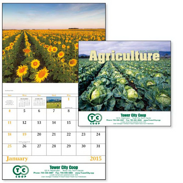 Custom Agriculture - Stapled Appointment Calendar