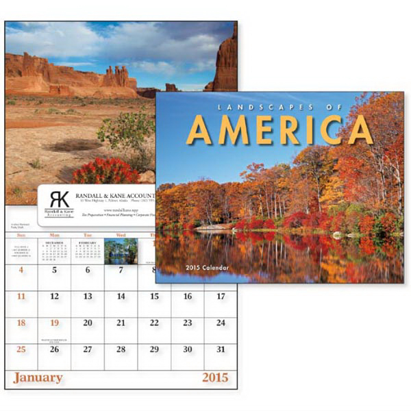 Personalized Landscapes of America - Window Appointment Calendar