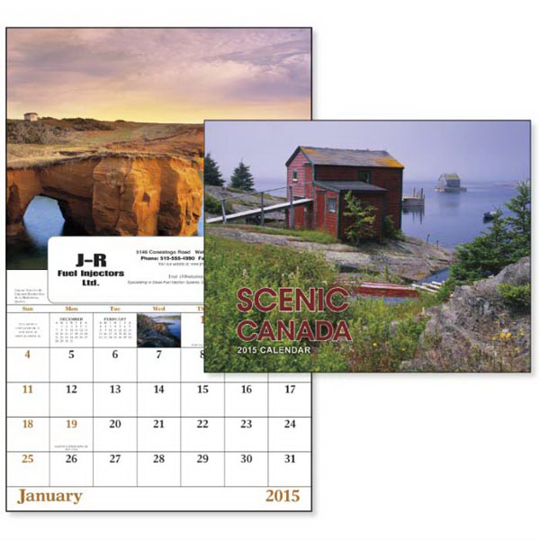 Custom Scenic Canada - Window Appointment Calendar
