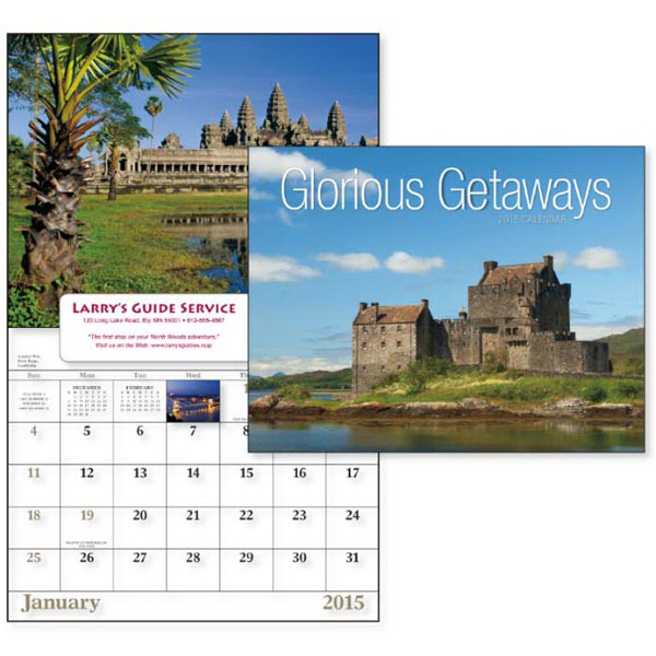 Personalized Glorious Getaways - Window Appointment Calendar