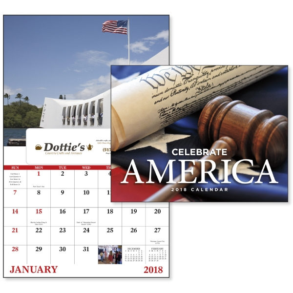 Promotional Celebrate America - Window Appointment Calendar
