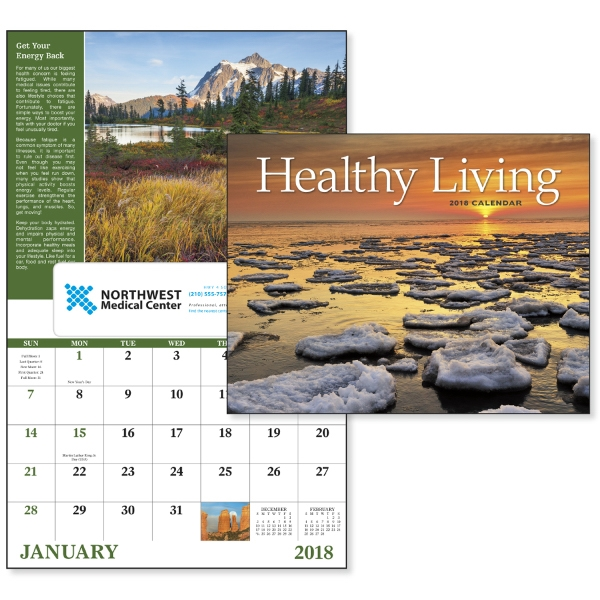 Custom Healthy Living - Window Appointment Calendar