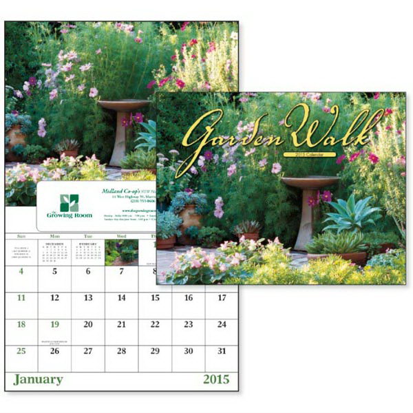 Custom Garden Walk - Window Appointment Calendar