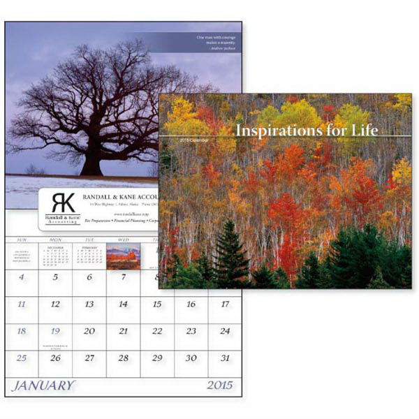 Promotional Inspirations for Life - Window Appointment Calendar