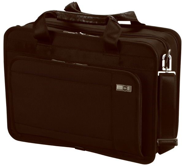 Promotional Monticello 15 Expandable Dual Compartment Laptop Brief