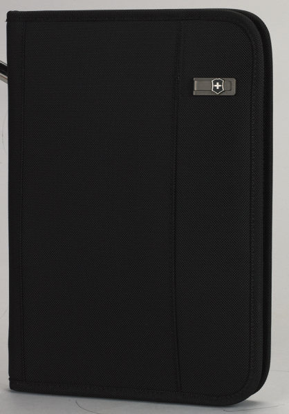 Custom Wright Zippered Padfolio with Notepad