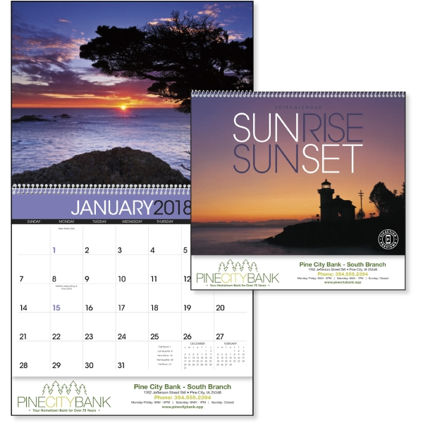 Promotional Sunrise/Sunset