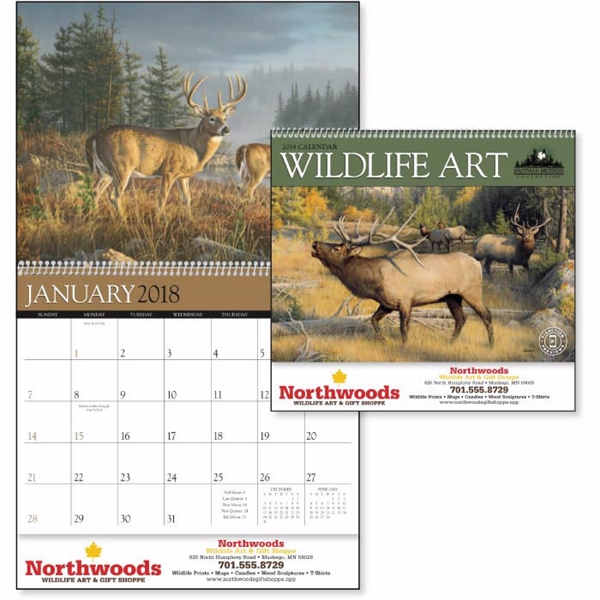 Promotional Wildlife Art by the Hautman Brothers