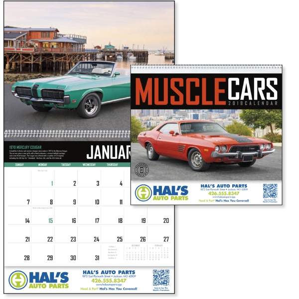 Promotional Muscle Cars