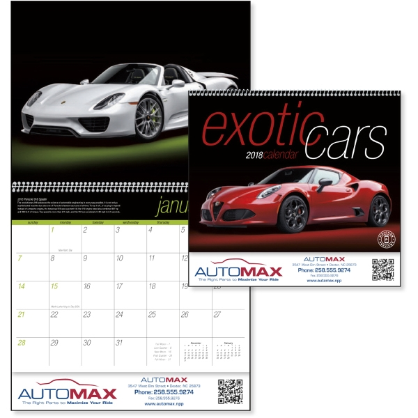 Printed Exotic Cars
