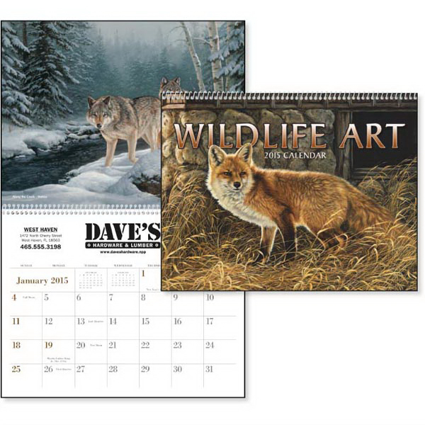 Imprinted Wildlife Art