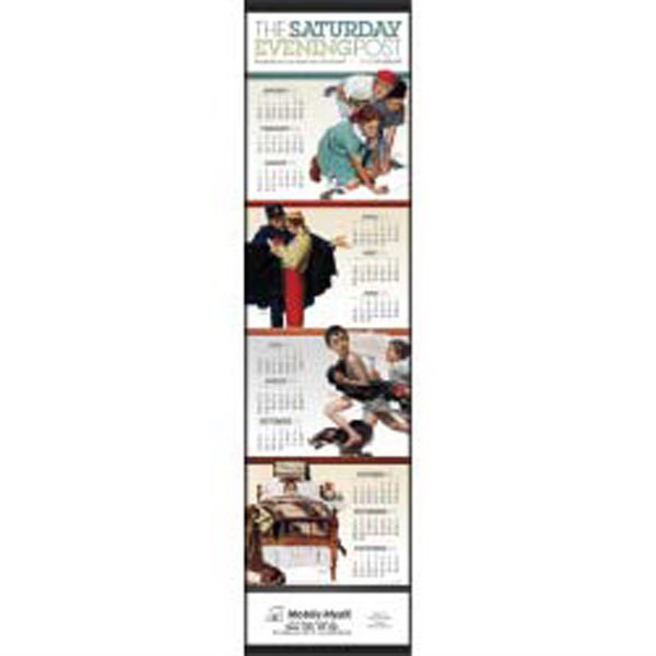Customized The Saturday Evening Post Scroll