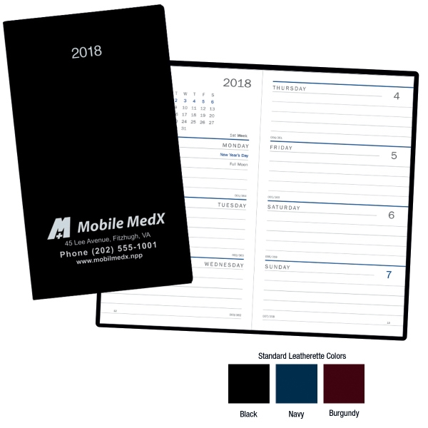 Customized Standard Weekly Pocket Planner