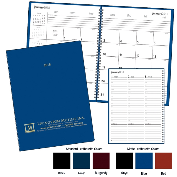 Personalized Monthly & Weekly Planner