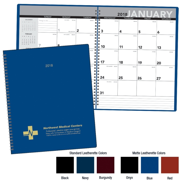Imprinted Monthly Planner