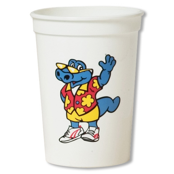 Personalized Smooth stadium cup - 12 oz