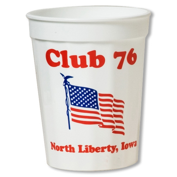 Printed Smooth stadium cup - 16 oz