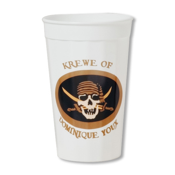 Customized Smooth stadium cup - 22 oz