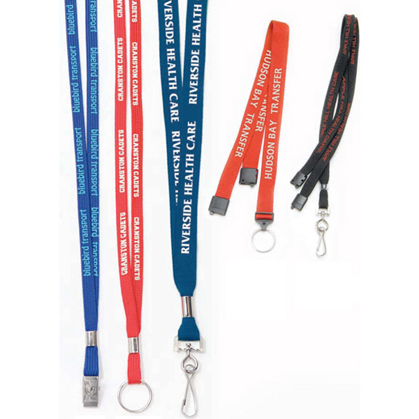 Printed Economy Fast & Easy Lanyard