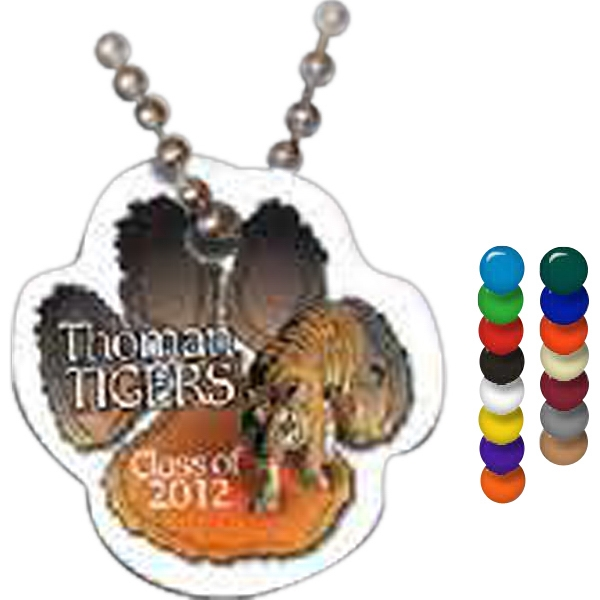 Custom Paw Spirit Tag