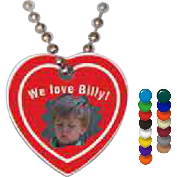 Customized Heart Spirit Tag