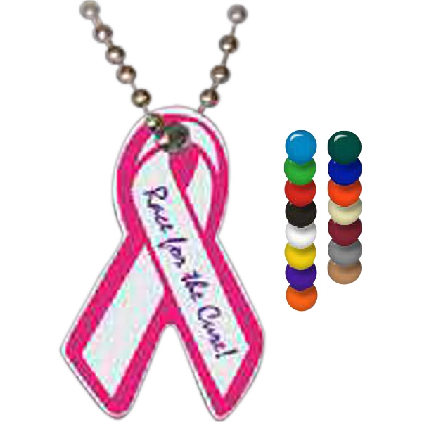 Promotional Ribbon Spirit Tag