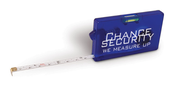 Promotional Business Card Tape Measure