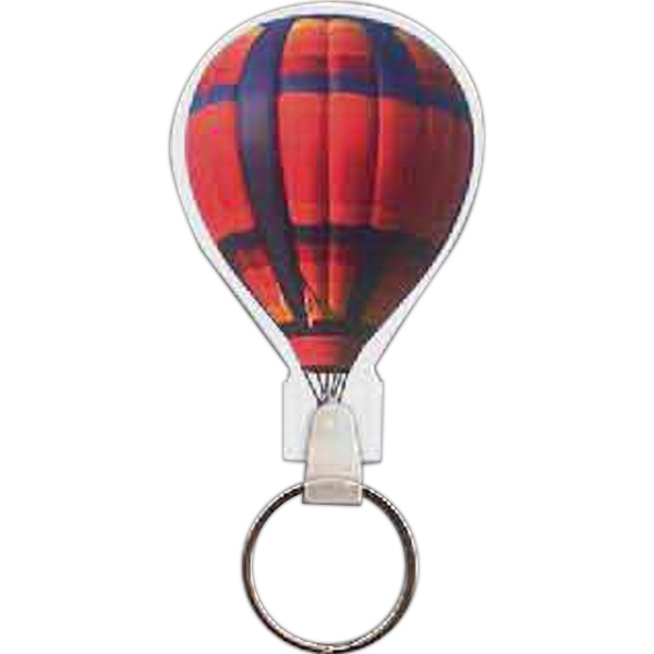Imprinted Hot Air Balloon Key Tag