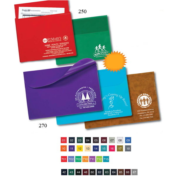Personalized Executive Underarm Portfolio